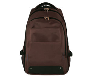 Brown Backpacker Trolley Laptop Bag Backpack (ST6325B) pictures & photos