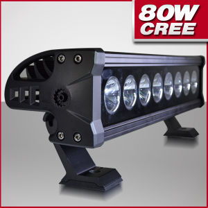 80W LED Driving Light Bars for Offroad Vechiles (PD1R-8)