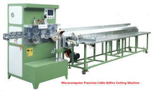Microcomputer High Precision Cable Wire Cutting Machine pictures & photos