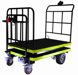Scissor Type Manned Lifting Cart of Green House (DH-LF2-C5 Curtis Controller, 500W Motor) pictures & photos