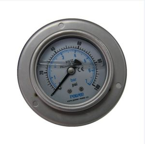 2.5 Inch-63mm Full Stainless Steel Back Pressure Gauge with Bracket pictures & photos