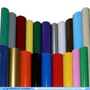 Adhesive Vinyl Sticker of Colorful PVC Film pictures & photos