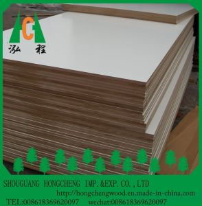 Warm White Melamine Faced MDF Board pictures & photos