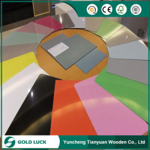Colorful Melamine Paper Faced Eco Friendly Laminated Plywood pictures & photos