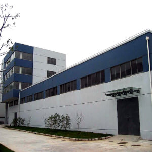Good Looking Steel Structure Showroom Building with Glass Curtain Wall pictures & photos