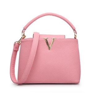 The Newest Guangzhou Wholesale Designer Fashion Women PU Leather Handbag pictures & photos