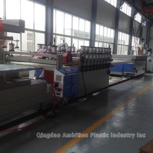 PVC Foam Sheet Extrusion Machine pictures & photos