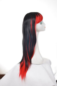 Sale Long Size Synthetic Hair Wig Party Wig pictures & photos