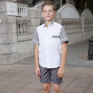 Summer School Uniform/Students Skirt Suit Uniforms pictures & photos