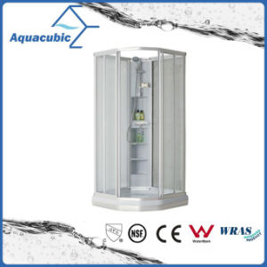 Bathroom Tempered Glass Simple Shower Room (AS6818) pictures & photos