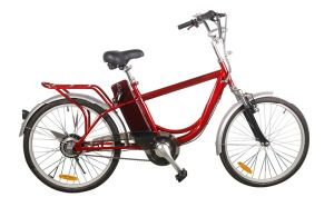 Rear Rack 24 Inch Cheap City Electric Bicycle pictures & photos