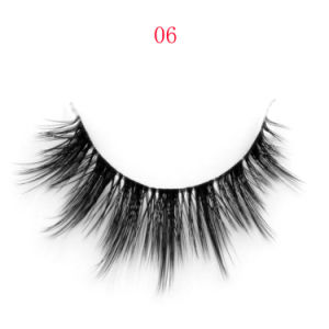 New Luxury Hand Made Natural Looking 3D Silk Eyelashes/Synthetic Eyelash
