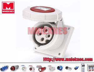 Industrial Socket 16A 3p+PE IP67 (MN1432)