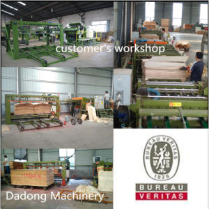 CNC Woodworking Board Machine Automatic Veneer Machine pictures & photos