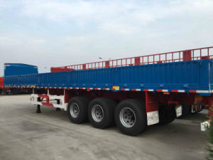 Fence Semi Trailer with 800mm Side Wall pictures & photos