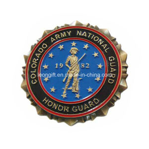 Special Edge Souvenir Army Coins with Competitive Price pictures & photos
