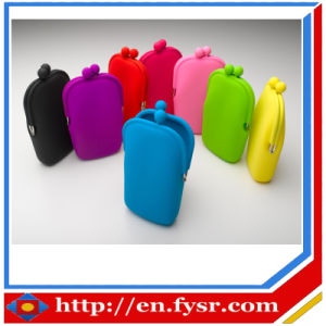 Silicone Purse for Mobile or Coin (FY-409)