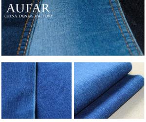 3706 Blue Indigo Cotton Denim Fabric for Jeans and Garment