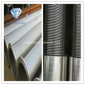 Johnson Wedge Wire Water Well Filter Stainless Steel Screen pictures & photos