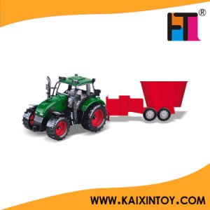 Hot! Friction Toy Diecast Car Green Small Toy Farming Tractor pictures & photos