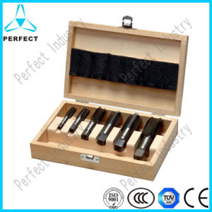 6PCS ISO Standard Bsp Hand Tap Set pictures & photos