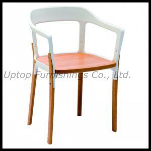 Restaurant Furniture Metal Steelwood Armchair (SP-EC798) pictures & photos