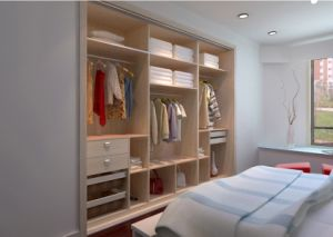 Cheap Wooden 3 Door Bedroom Wardrobe (zy-002) pictures & photos
