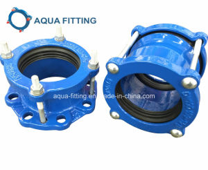 Ductile Iron Flexible Wide Range Universal Coupling for PVC, Di, Steel Pipe Dn40-Dn2000