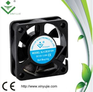 12V Mini DC Fan 30X30X10mm for Prolight Sound Equipments pictures & photos