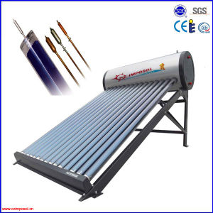 Integrative Pressurized Heat Pipe Solar Water Heater pictures & photos