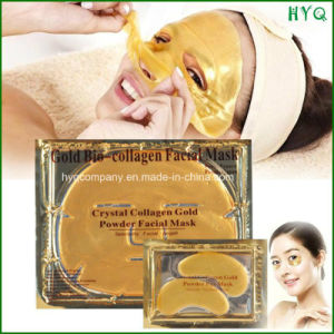 Face Care Crystal Collagen Gold Powder Eye Mask & Facial Mask pictures & photos