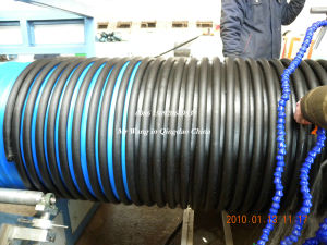PE/PP Spiral Corrugated Pipe Extrusion Machine (KRAH Continuous Forming)
