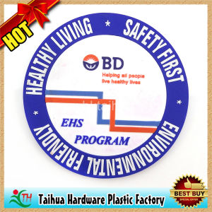 PVC Silicone Cup Mat Coaster with SGS Certification (TH-BD017) pictures & photos