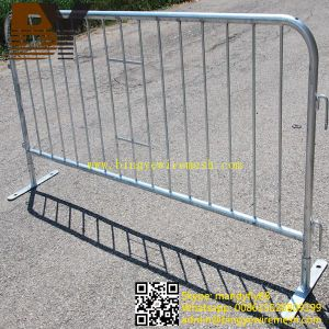 Galvanized Removable Barriers Crowd Control Barrier pictures & photos