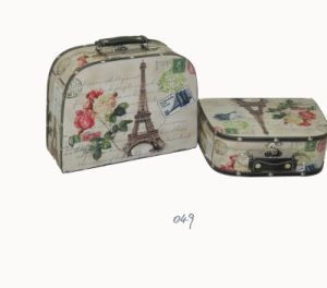 Paris Wooden Storage Suitcase (BDWA049)