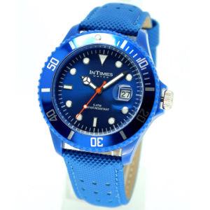 Intimes Fashion Men′s Wrist Watch Quartz Movt 5ATM