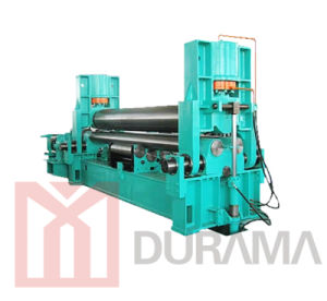 Hydraulic 3-Roller Plate Rolling Machine, Hydraulic Plate Bending Machine pictures & photos