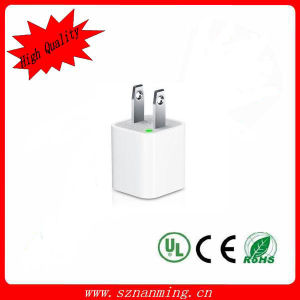 USB Wall Charger White Color for iPhone iPad (NM-USB-1277) pictures & photos