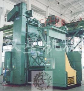 Rubber Belt Tumble Type Shot Blasting Abrator pictures & photos