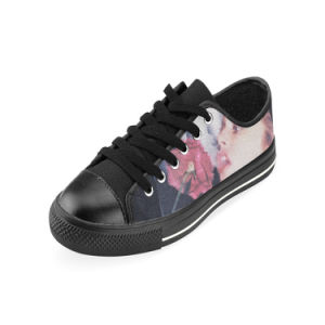 Style No Custom Sneaker 036 Low Cut Print Unisex Canvas Casual Shoes Custom Canvas Sneakers pictures & photos