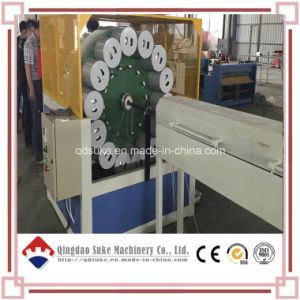PVC Fiber Reinforced Soft Pipe Hose Extrusion Making Machine pictures & photos
