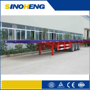 Manufacturer 20ft 40ft Container Transport Semi Trailer for Shipping Containers pictures & photos