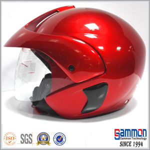 Chic Half Face Motorcycle Helmet (OP205)