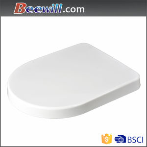 Ceramic Toilet Lid D Shape Toilet Lid Cover pictures & photos