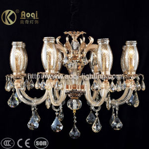 Modern Design Europ Style Crystal Chandelier Lamp (AQ20040-8) pictures & photos