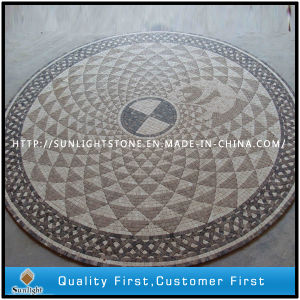 Natural Stone Marble Mosaic Medallion Flooring for Indoor Floor Decoration pictures & photos