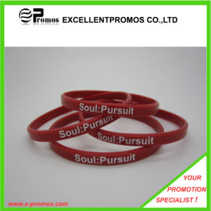 Various Size Promotional Silicon Wristband (EP-B8313A) pictures & photos