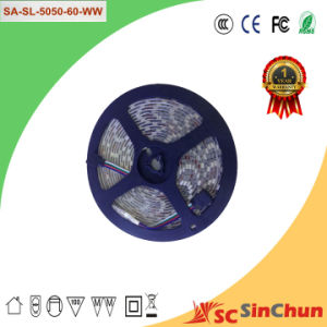 2015 New Product Factory Price LED Strip5050 LED Light Strip (SA-SL-5050-60-WW)