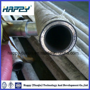 Highly Flexible Hydraulic Hose with 4 Spiral Steel Wire pictures & photos