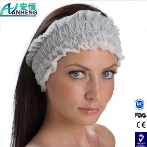 PRO Salon Disposable Stretch SPA Client PRO Protection Hair Headband pictures & photos